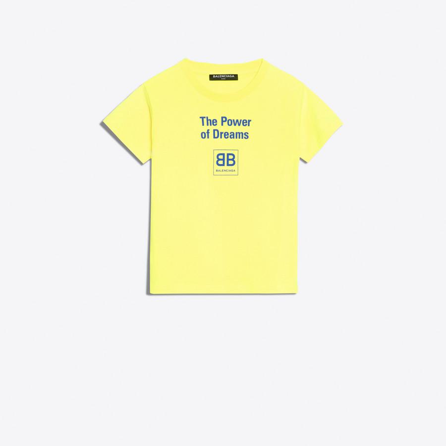BALENCIAGA Kids - T-shirt 'Power of Dreams' Top E f