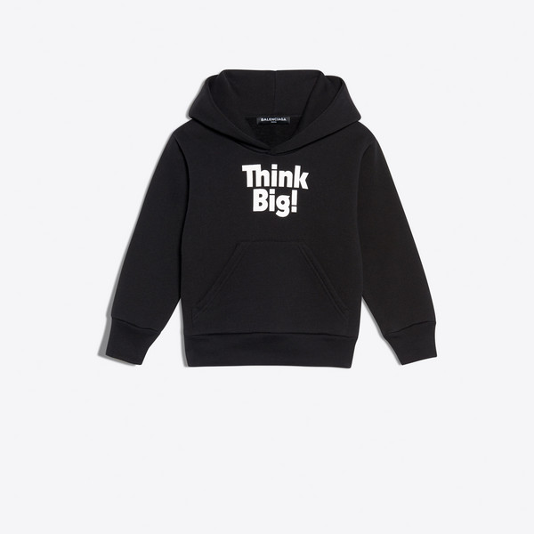 BALENCIAGA KIDS SWEATER E Kids - Hoodie Sweater 'Think Big' g