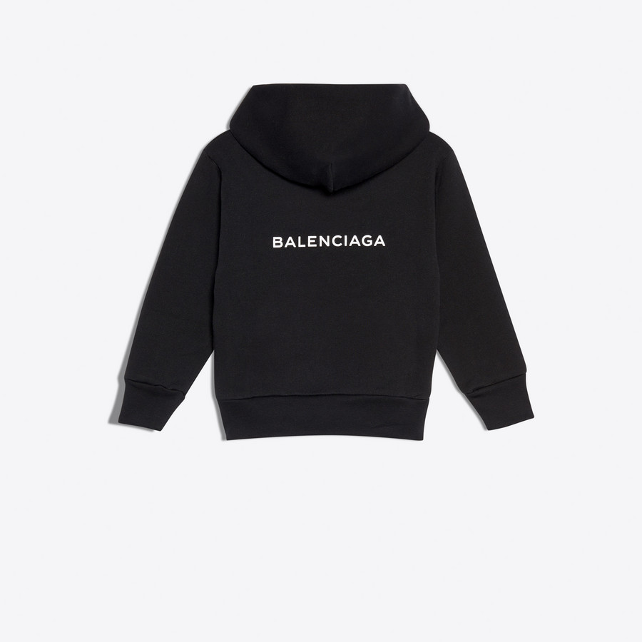 BALENCIAGA KIDS Kids - Hoodie Sweater 'Think Big' SWEATER E d