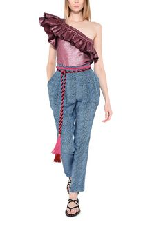 PHILOSOPHY di LORENZO SERAFINI Shiny lurex Top ONE-SHOULDER LUREX TOP Woman a