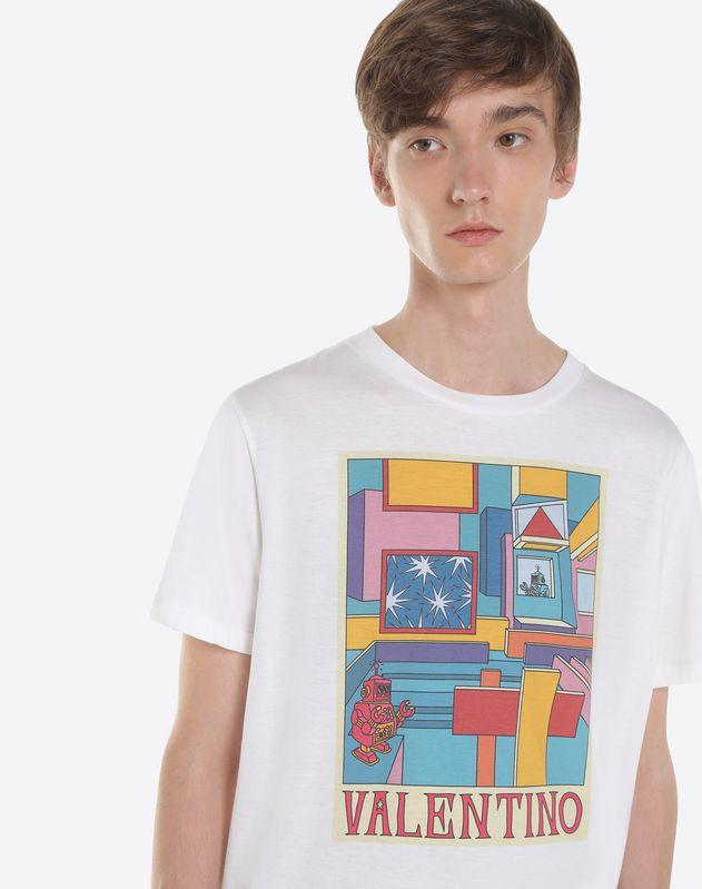 Space print T-shirt