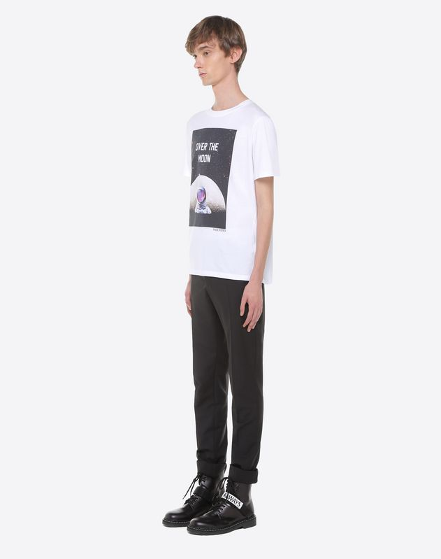 Astronaut print T-shirt