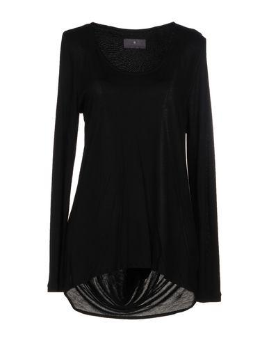 Фото - Женскую футболку STELIOS KOUDOUNARIS черного цвета
