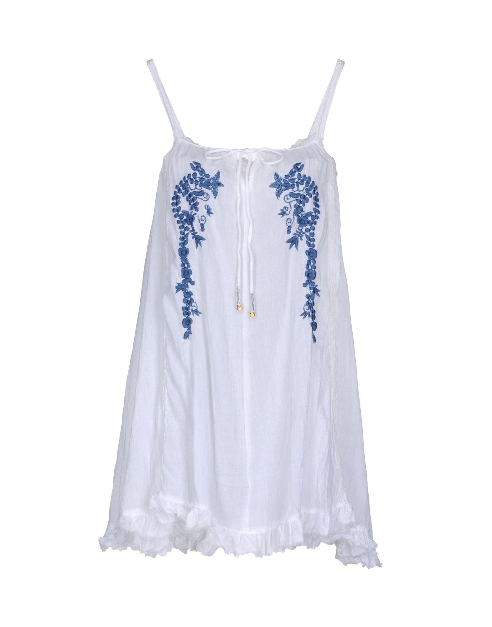 KALYPSO7 Топ без рукавов kalypso7 короткое платье