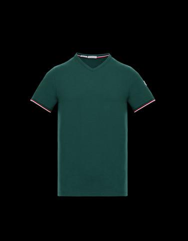 T-SHIRT Green Polos & T-Shirts