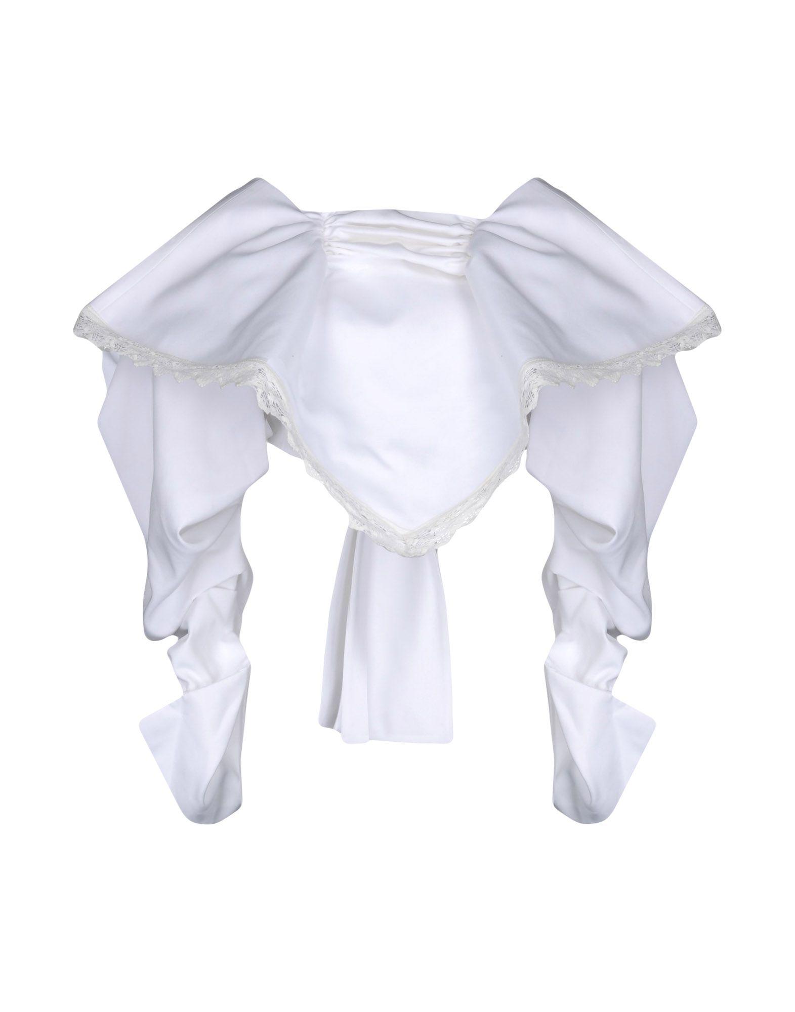 JACQUEMUS Damen Bolero Farbe Weiß Größe 3