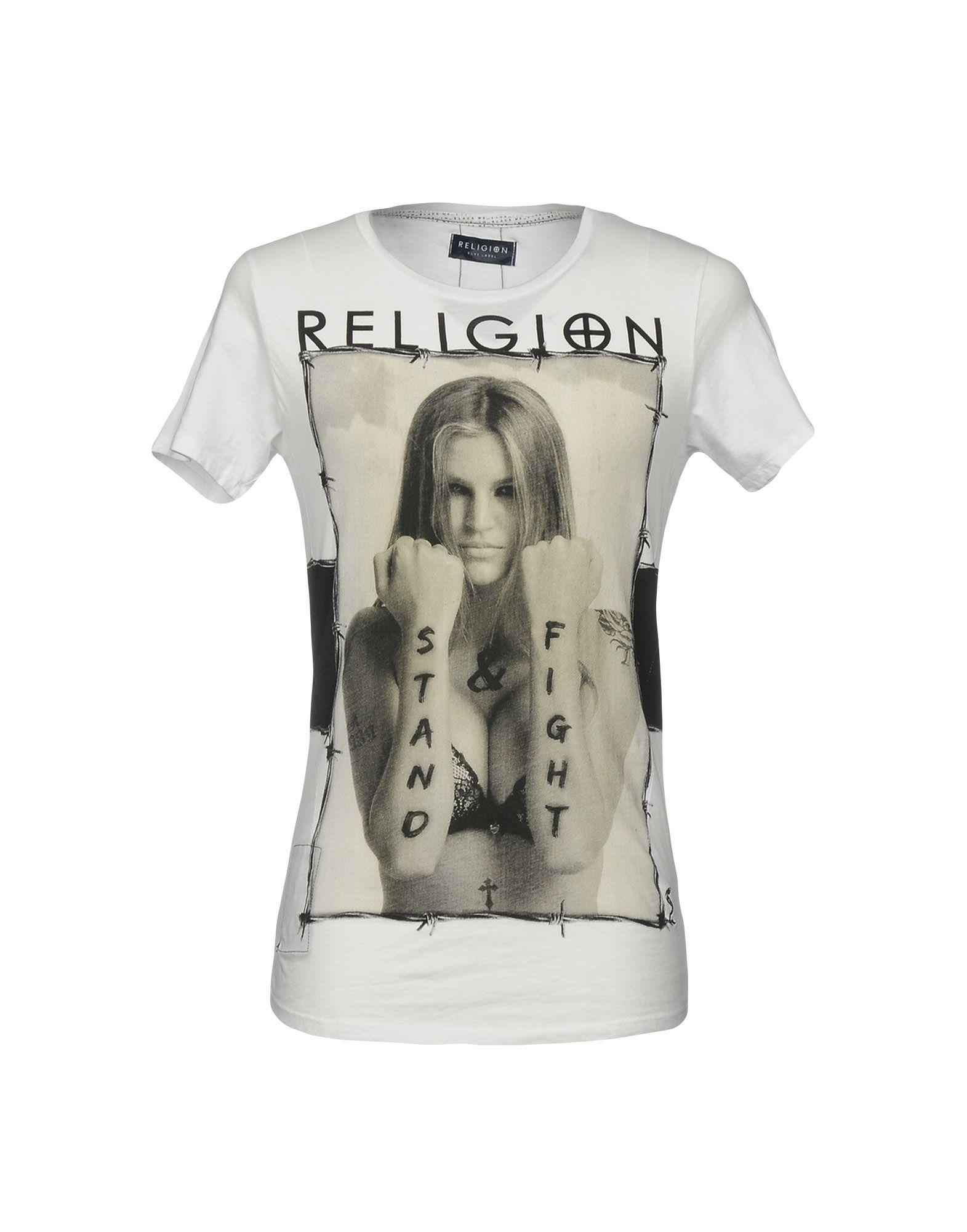 RELIGION Футболка футболка religion mb wsg01 white black
