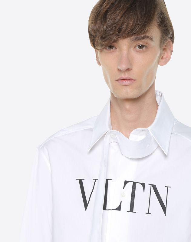 Chemise VLTN avec col écharpe