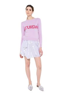 ALBERTA FERRETTI KNITWEAR Woman Saturday pastel sweater f