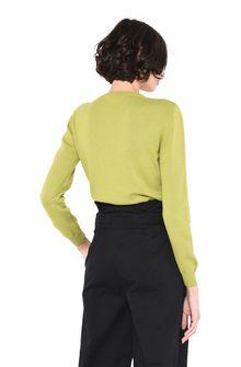 ALBERTA FERRETTI Green sweater with elephant KNITWEAR Woman d