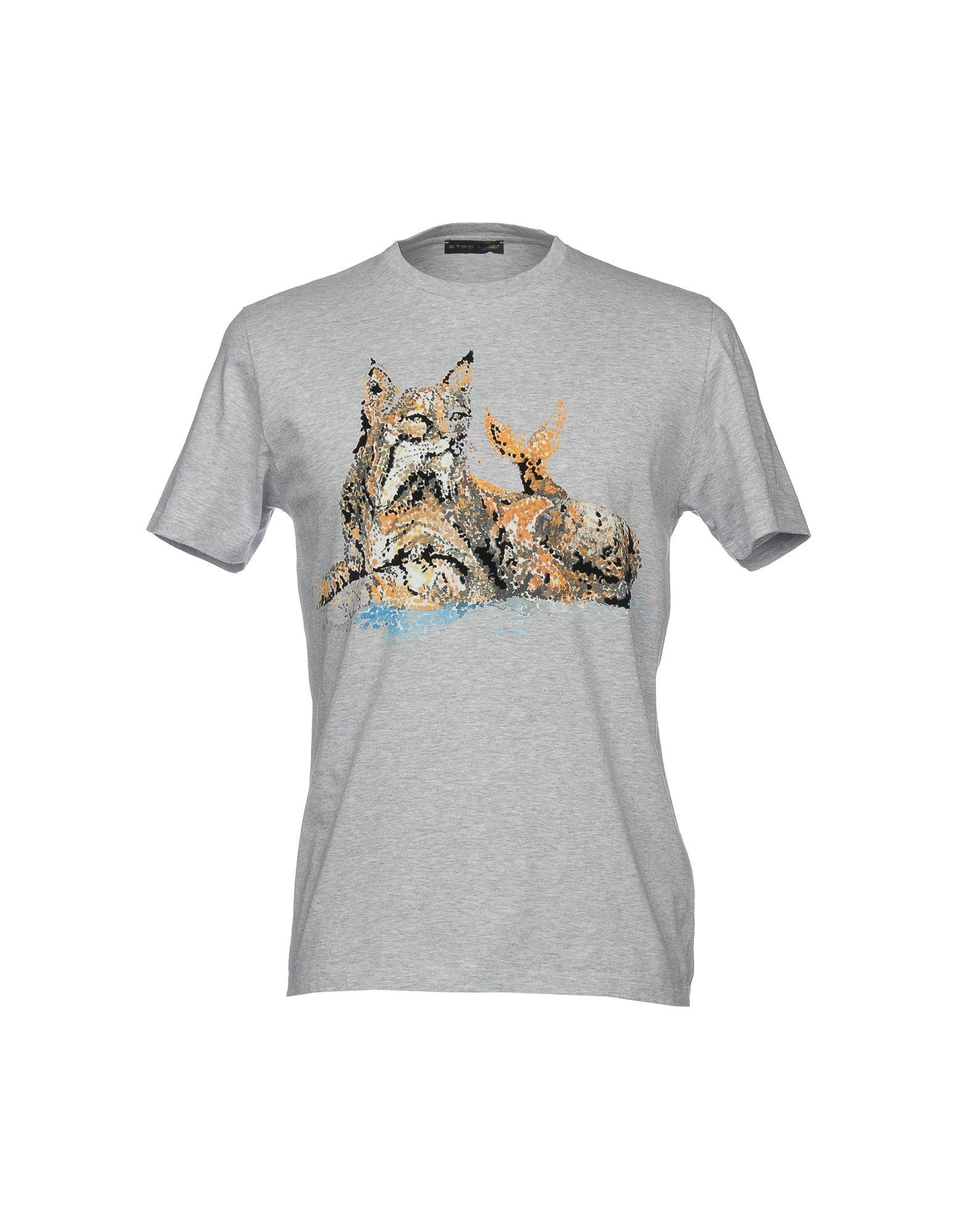ETRO Футболка etro футболка с контрастной вышивкой