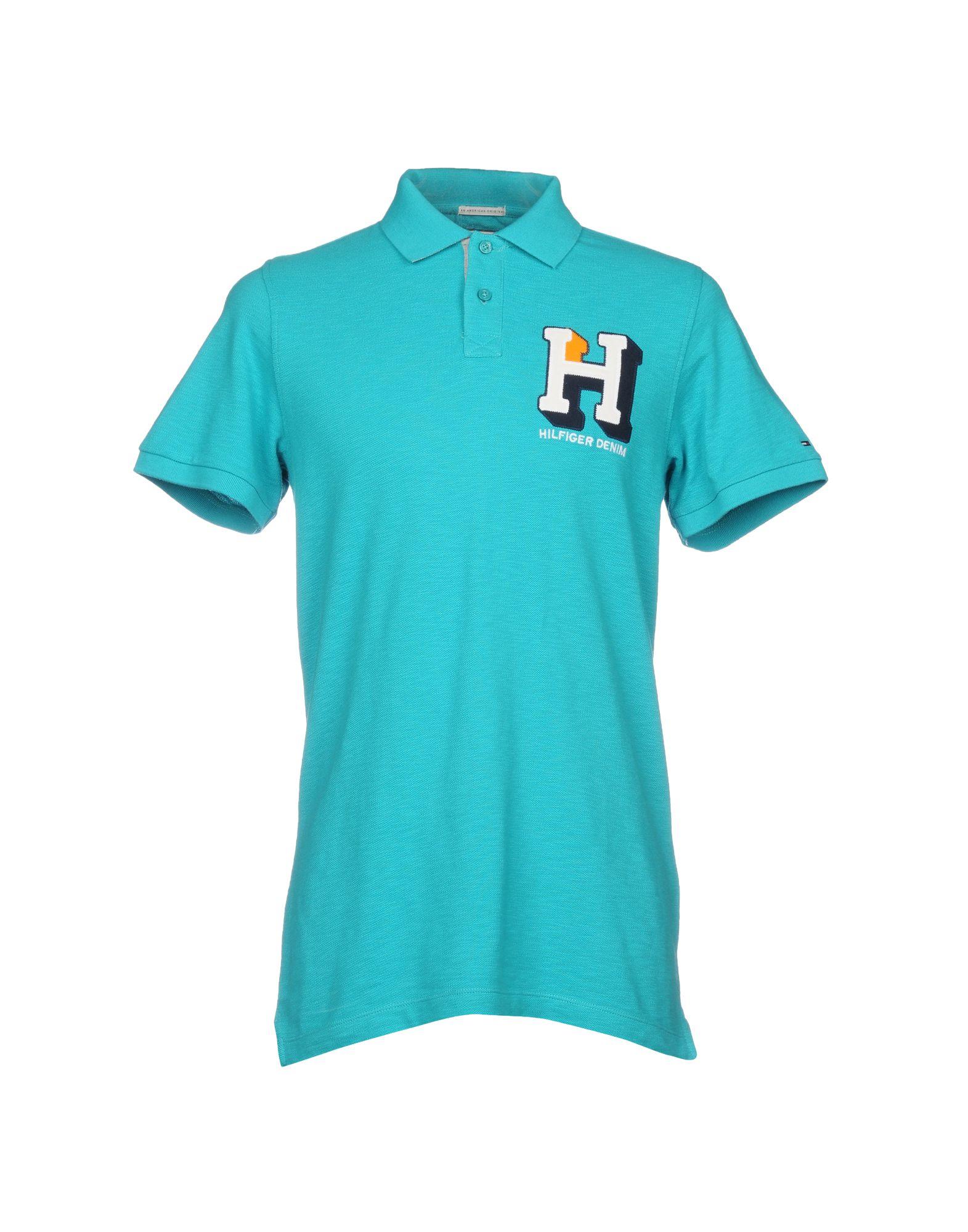 TOMMY HILFIGER DENIM Поло футболка tommy hilfiger denim tommy hilfiger denim to013ewtpb98