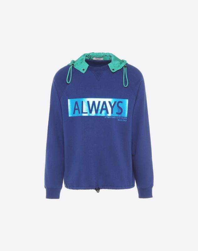 Sweatshirt with 'Always' lettering