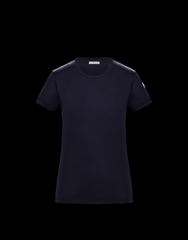 T-SHIRT Dark blue Kategorie T-shirts Damen