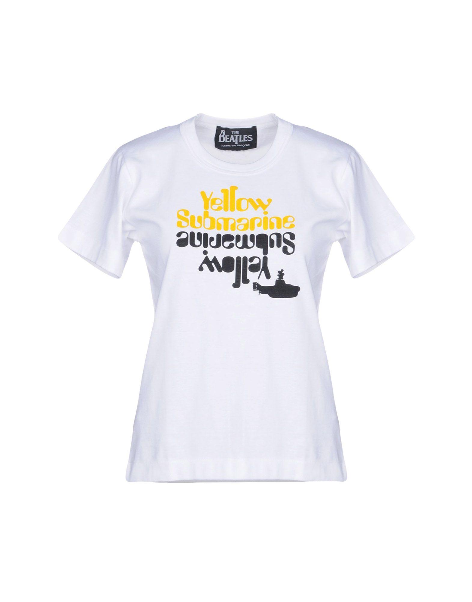 THE BEATLES by COMME DES GARCONS Футболка футболка классическая printio the beatles