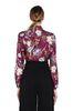 ALBERTA FERRETTI Magenta khadi shirt SHIRT Woman d