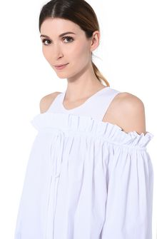 ALBERTA FERRETTI Drawstring shirt Blouse Woman a