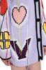 PHILOSOPHY di LORENZO SERAFINI Maxi cardigan Love lilla Cardigan Donna e