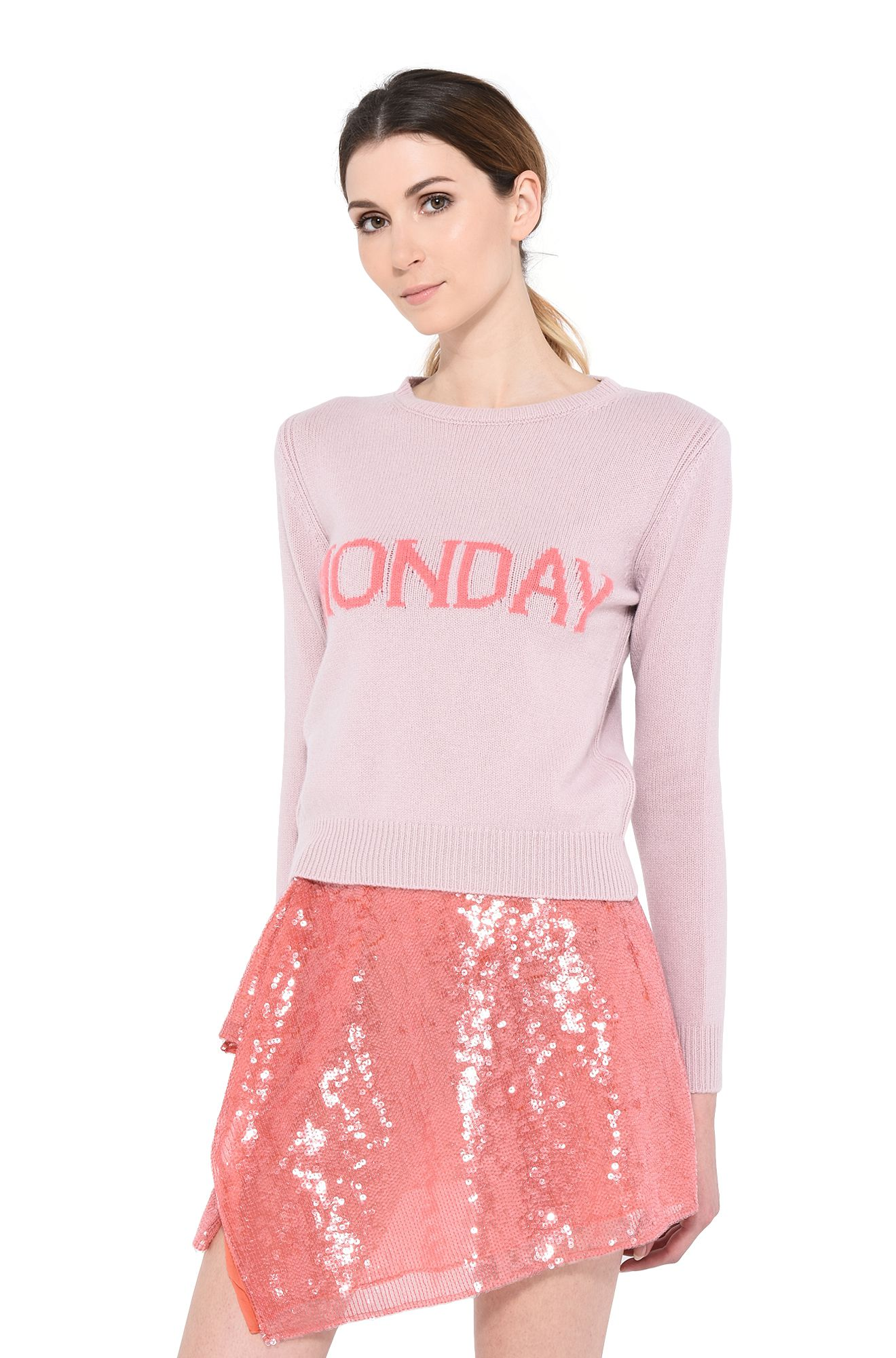 ALBERTA FERRETTI KNITWEAR Woman Monday pastel sweater r