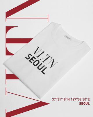 VLTN VALENTINO T-shirt VLTN   Cotton 12146012AK