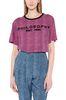 PHILOSOPHY di LORENZO SERAFINI T-shirt fucsia micro animalier T-shirt Donna r