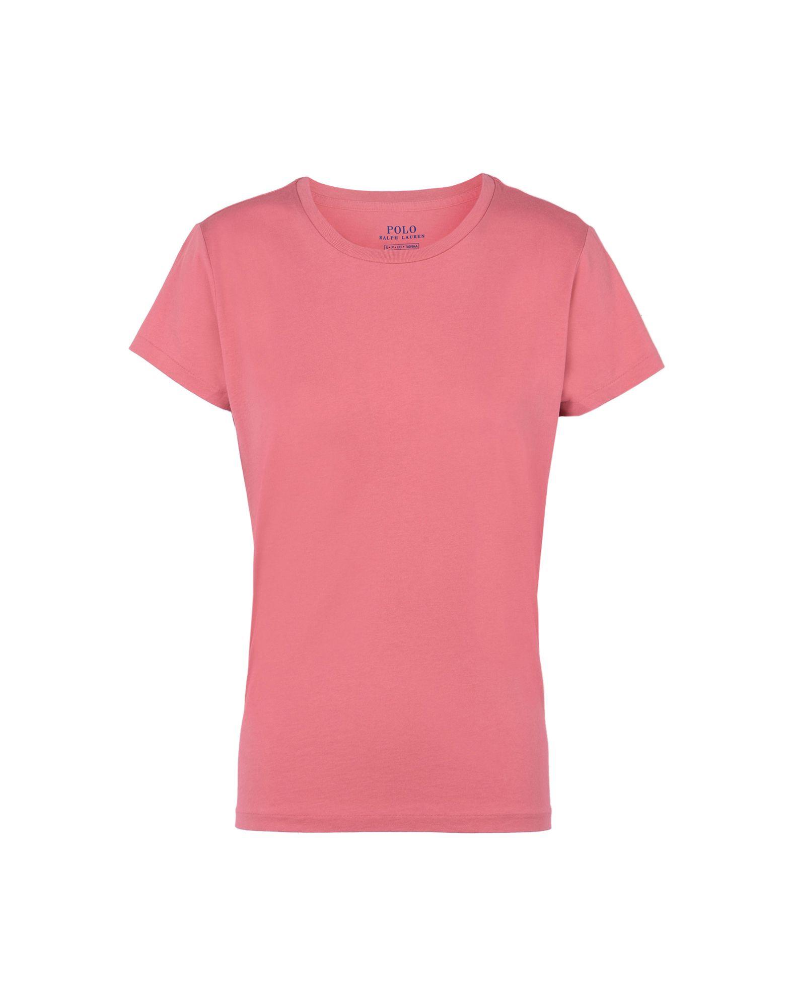 《送料無料》POLO RALPH LAUREN レディース T シャツ パステルピンク XS コットン 100% Custom Fit T shirt
