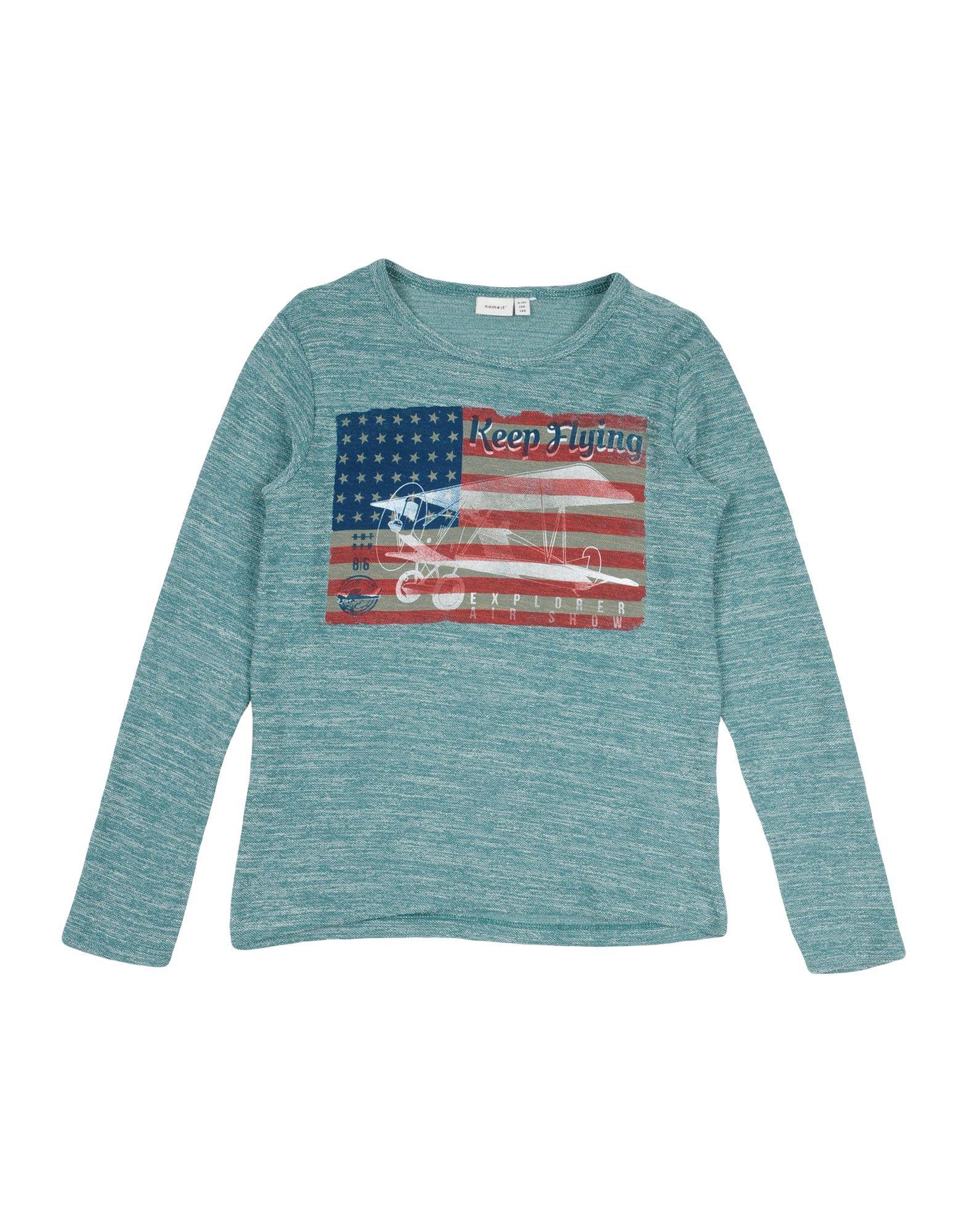 NAME IT® Jungen 9-16 jahre Sweatshirt1 grün