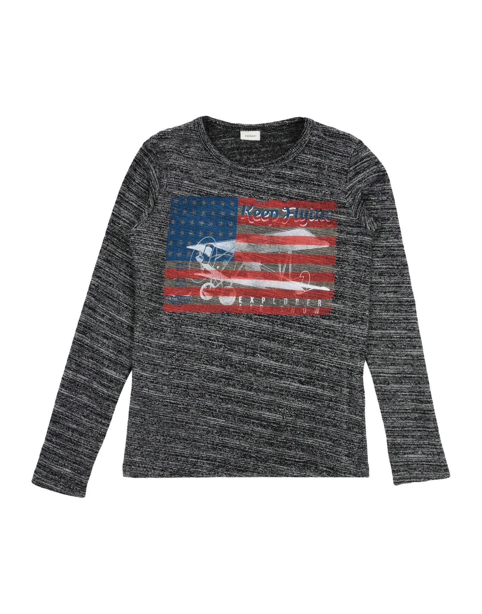 NAME IT® Jungen 9-16 jahre Sweatshirt3 schwarz