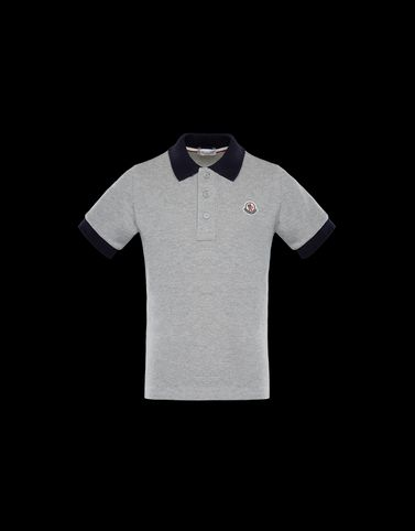 Moncler Junior 8-10 Years - Boy Man: POLO SHIRT