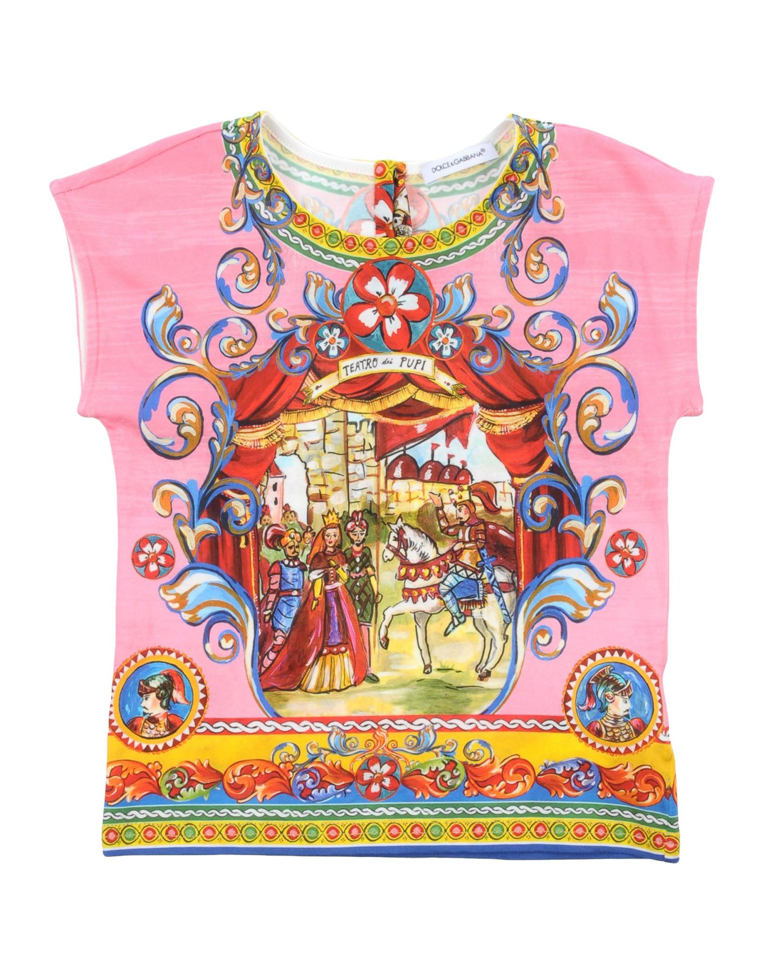 DOLCE & GABBANA | DOLCE & GABBANA T-shirts | Goxip