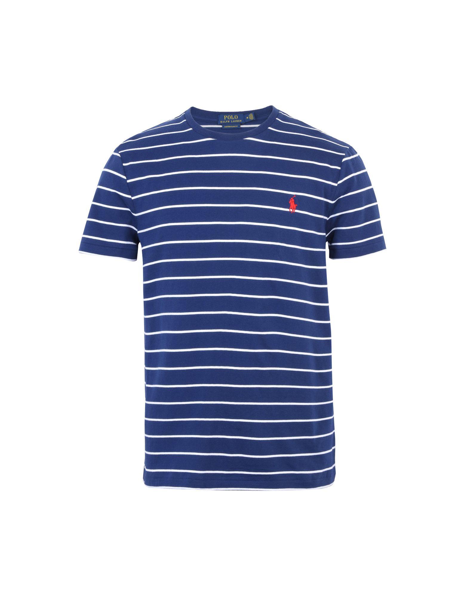 《送料無料》POLO RALPH LAUREN メンズ T シャツ ダークブルー XL コットン 100% Custom Fit T shirt