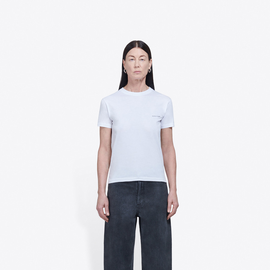 BALENCIAGA Fitted T-Shirt JERSEY Woman g