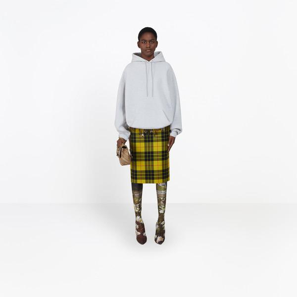 Sweatshirt à Capuche Imprimée