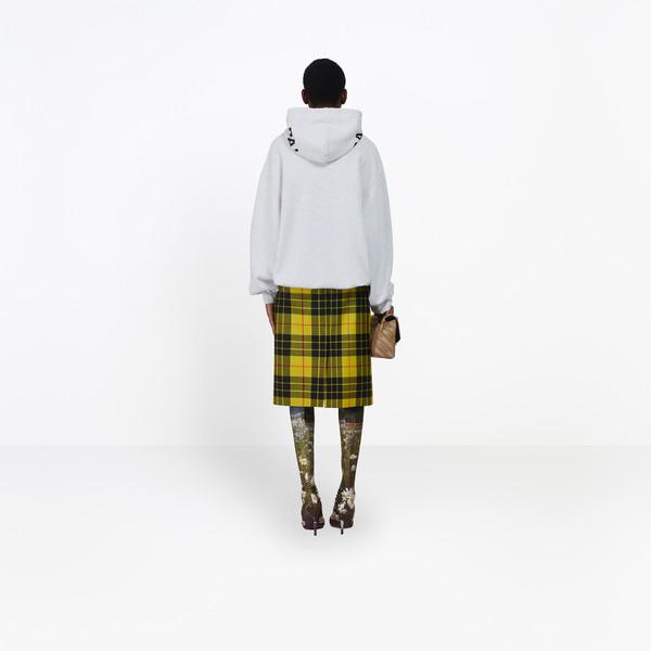 balenciaga hoodie yellow