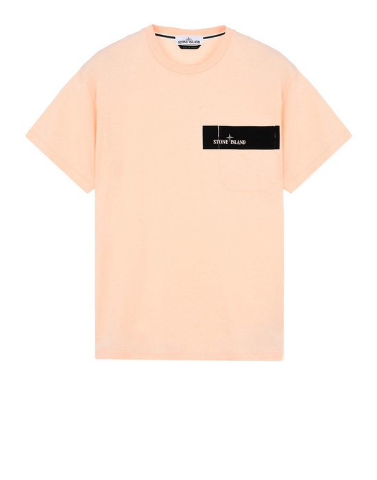 STONE ISLAND Short sleeve t-shirt 24794 POCKET LOGO