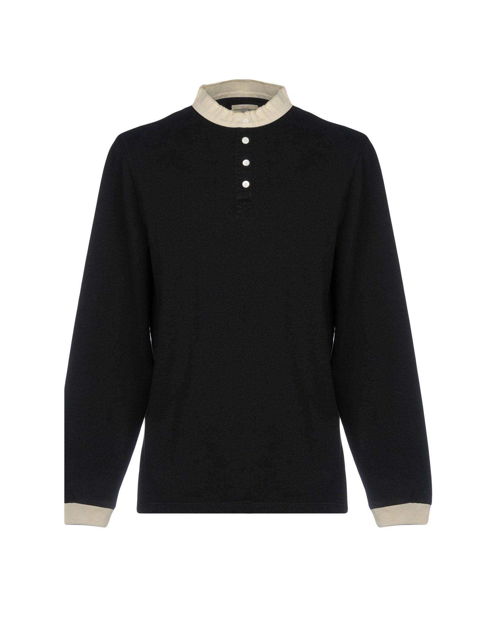 《送料無料》KENT & CURWEN メンズ T シャツ ブラック S コットン 100%