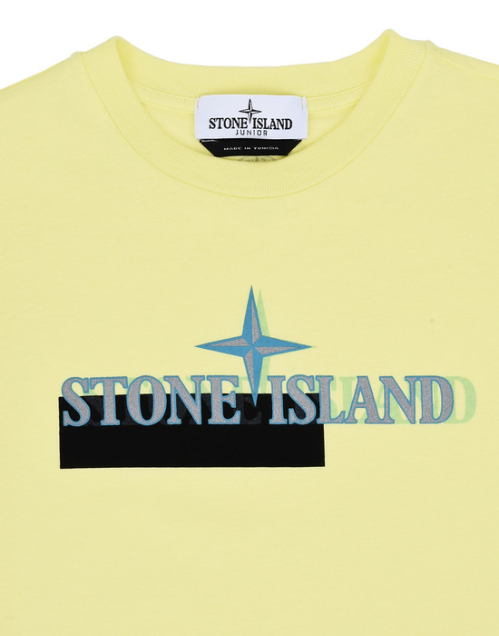 12148609fp - Polo - T-Shirts STONE ISLAND JUNIOR