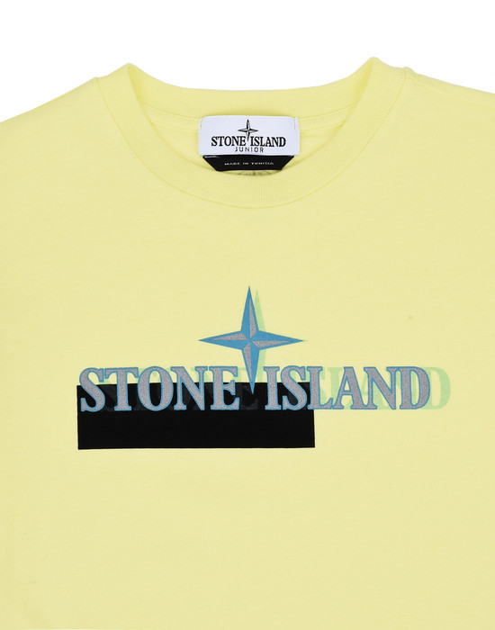 12148611el - Polo - T-Shirts STONE ISLAND JUNIOR