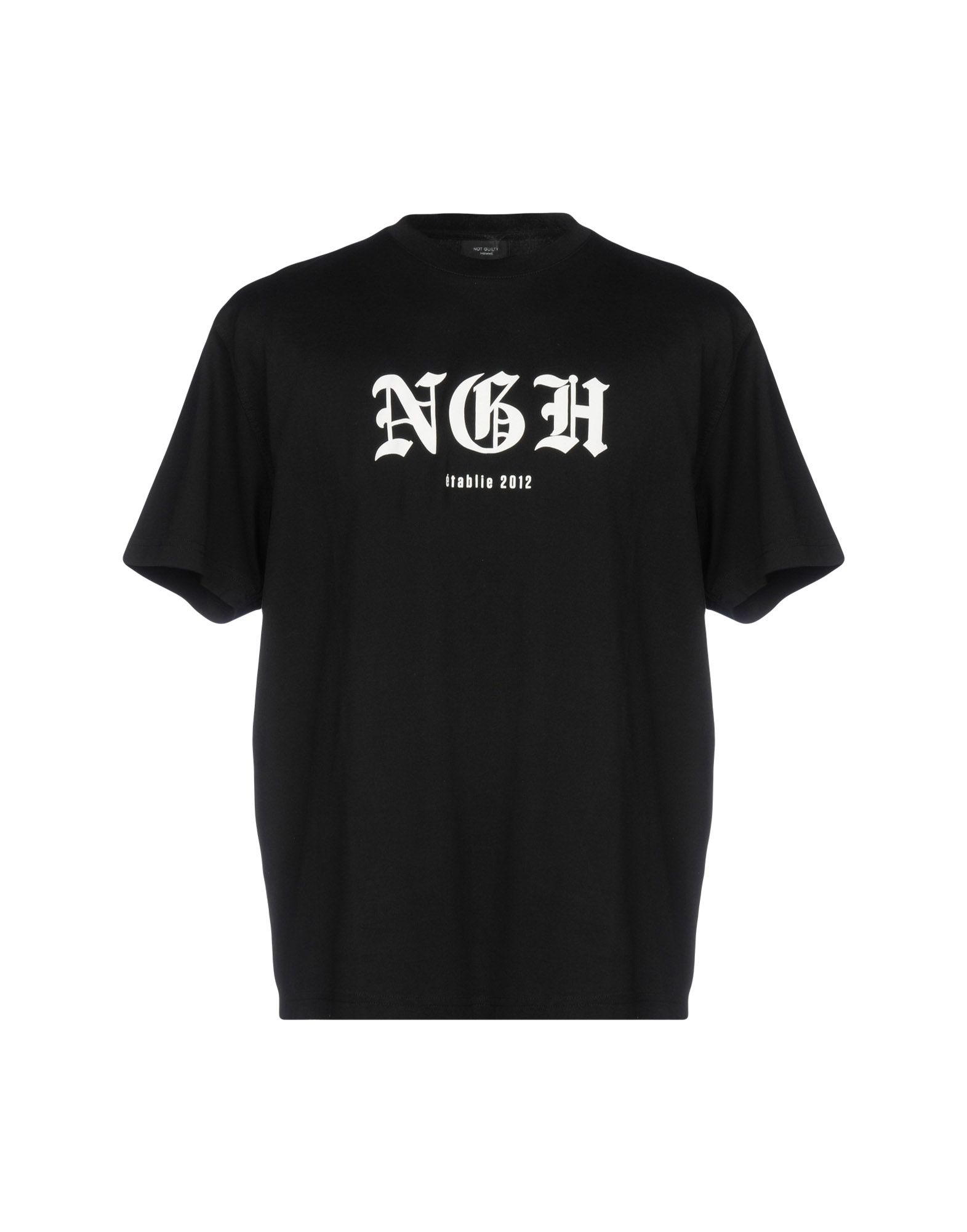 NOT GUILTY HOMME T-Shirt in Black