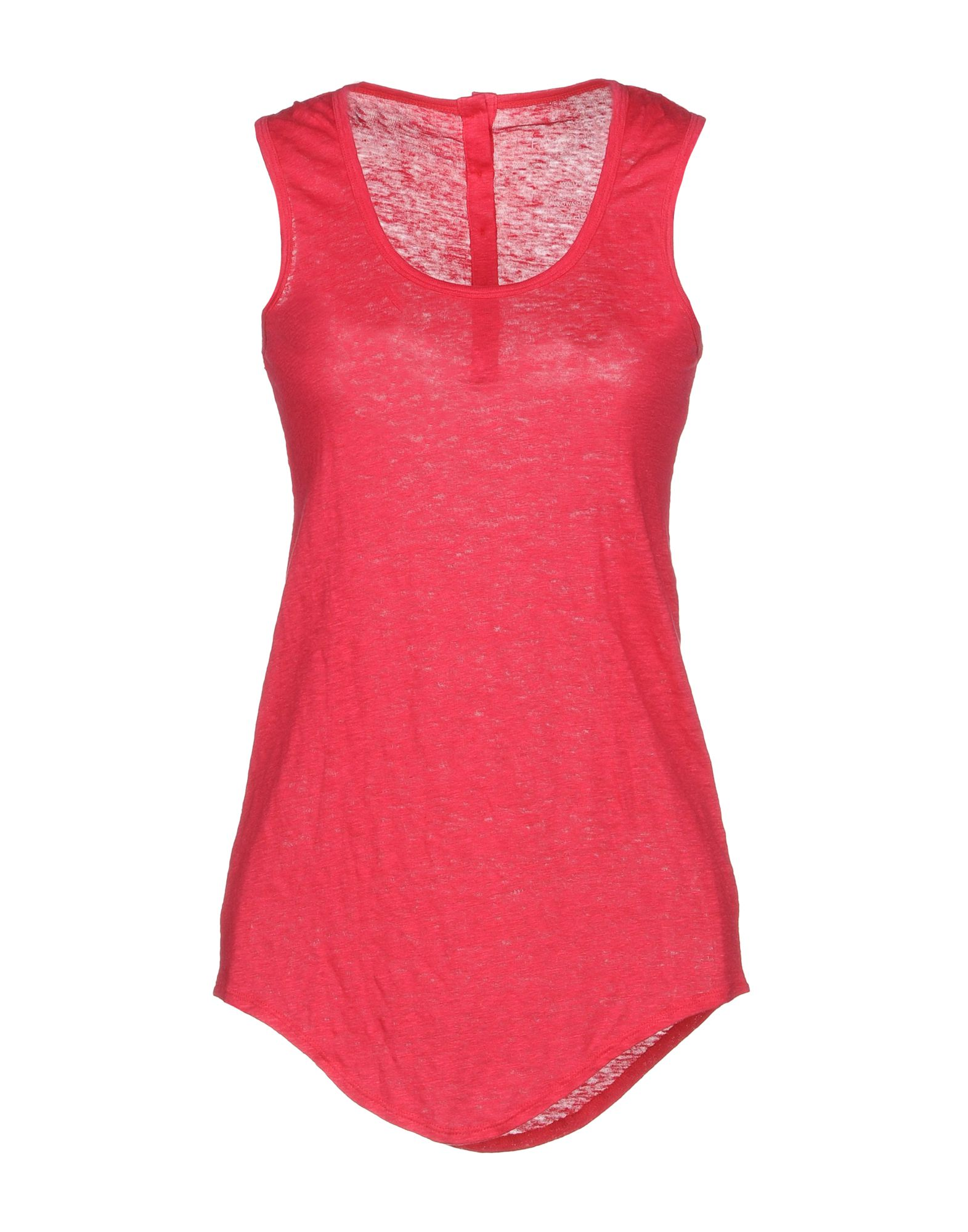 FINE COLLECTION Tank Top in Coral