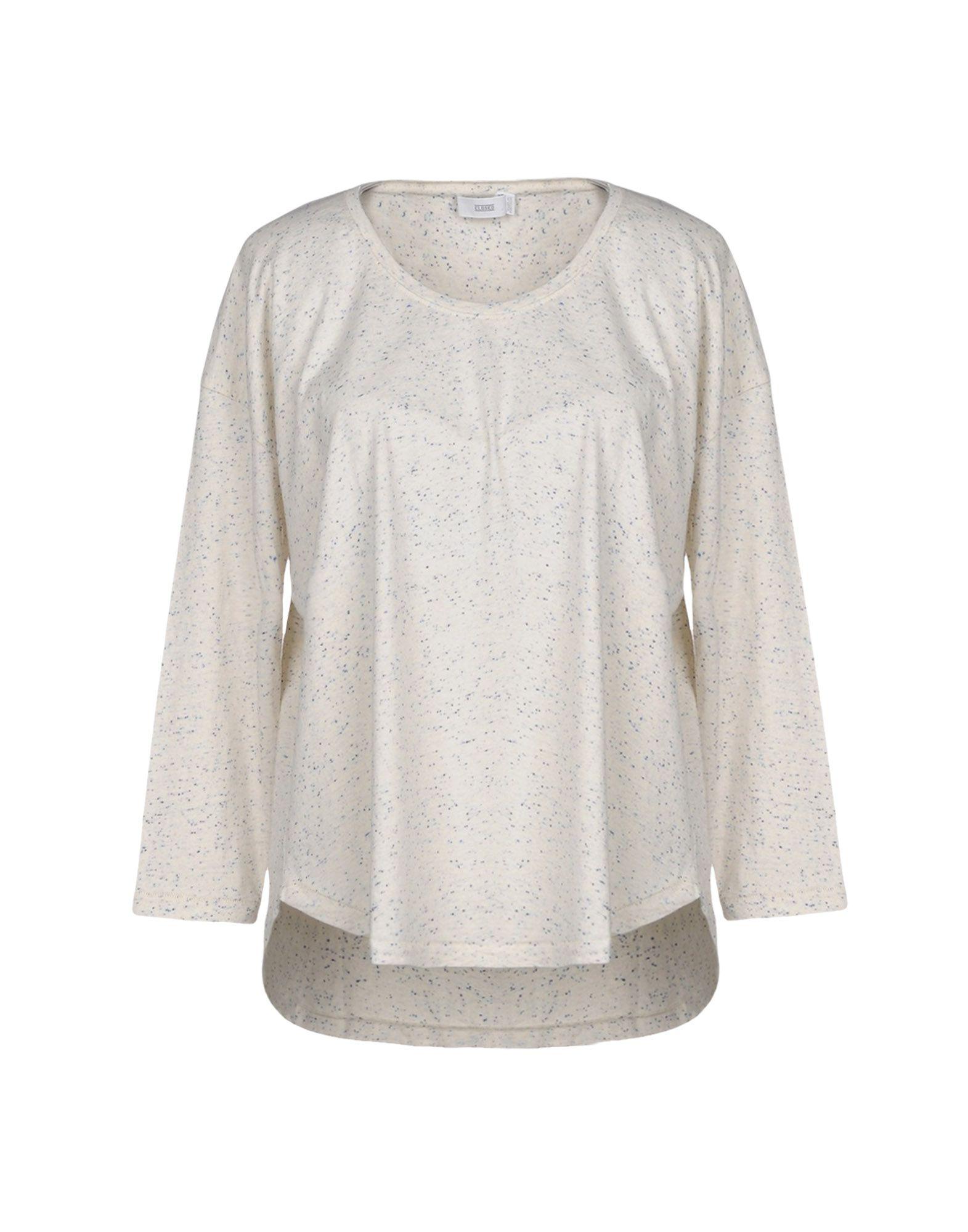 CLOSED Damen T-shirts Farbe Hellgrau Größe 3
