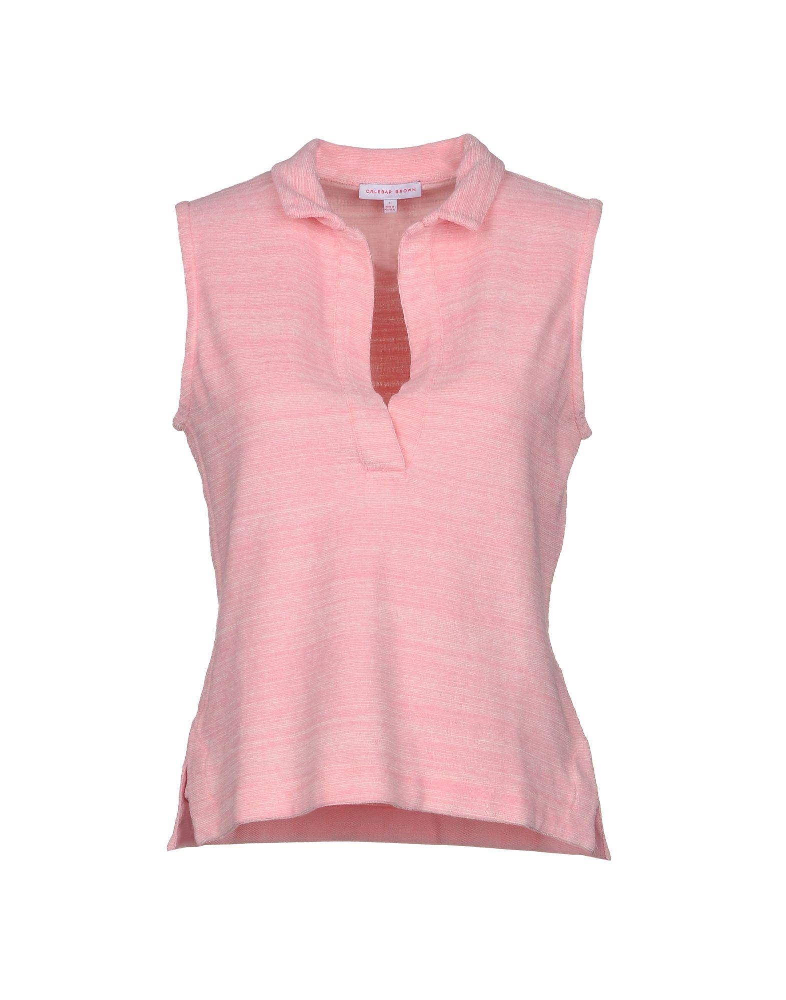《2万円以上オーダーで送料無料》ORLEBAR BROWN レディース ポロシャツ ピンク XS コットン 100%