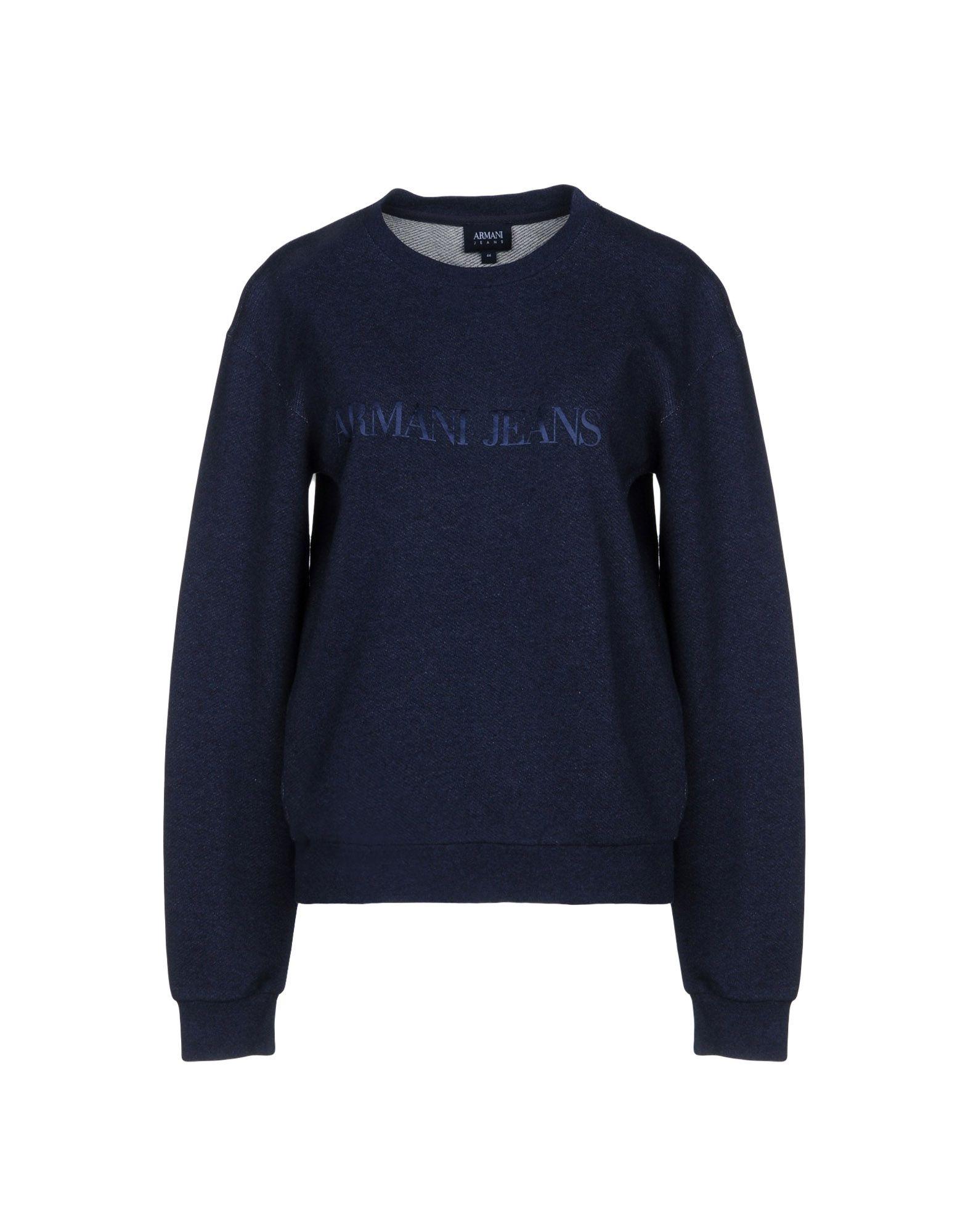 ARMANI JEANS Sweatshirt in Dark Blue