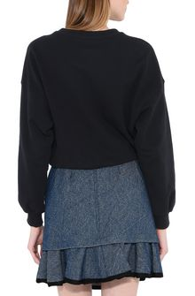 PHILOSOPHY di LORENZO SERAFINI Black Philosophy sweatshirt Sweater Woman d
