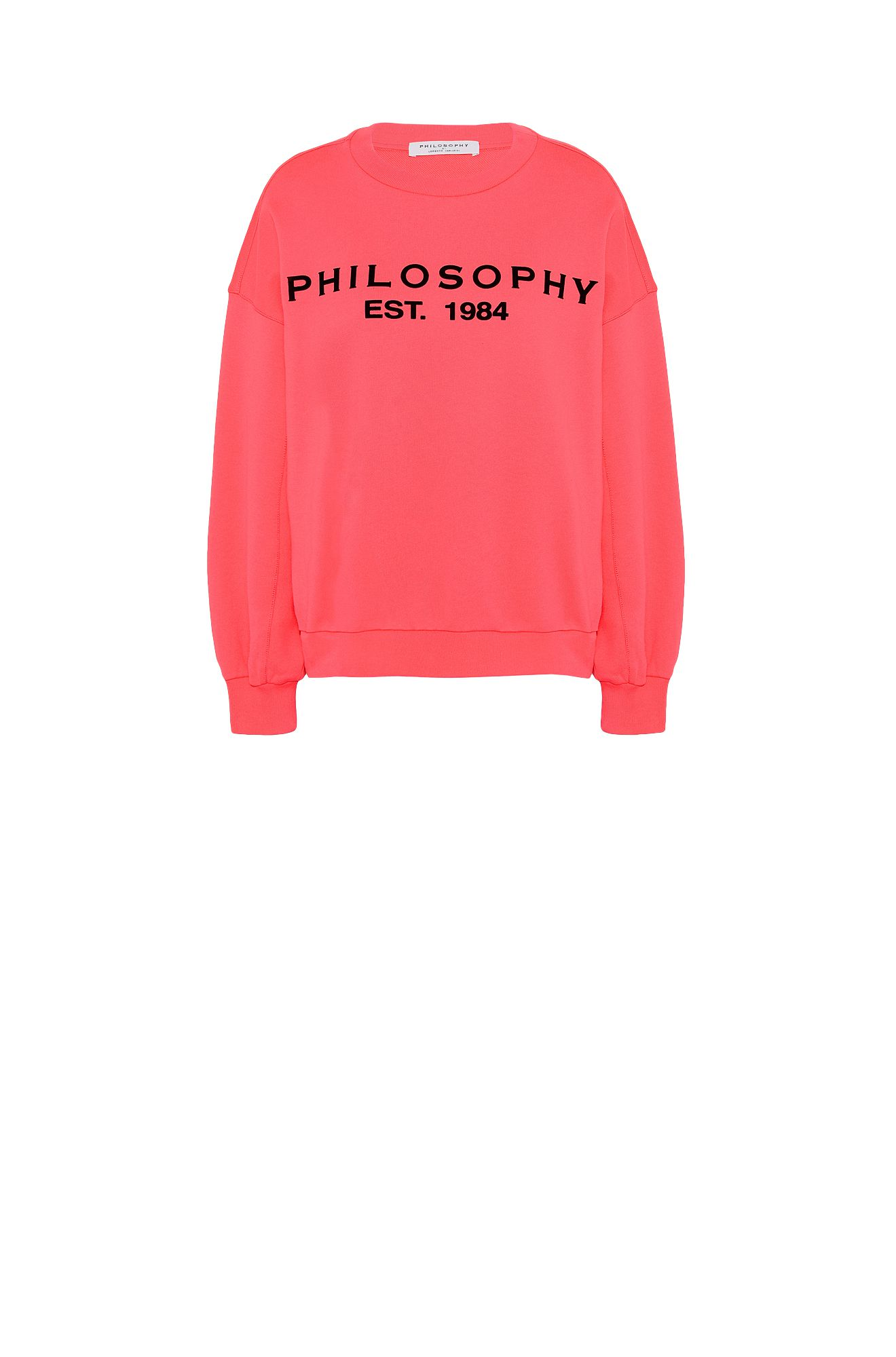 Fuchsia Philosophy sweatshirt