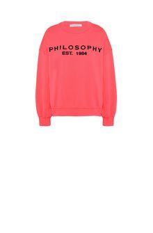 PHILOSOPHY di LORENZO SERAFINI Fuchsia Philosophy sweatshirt Jumper Woman f