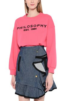 PHILOSOPHY di LORENZO SERAFINI Fuchsia Philosophy sweatshirt Jumper Woman r