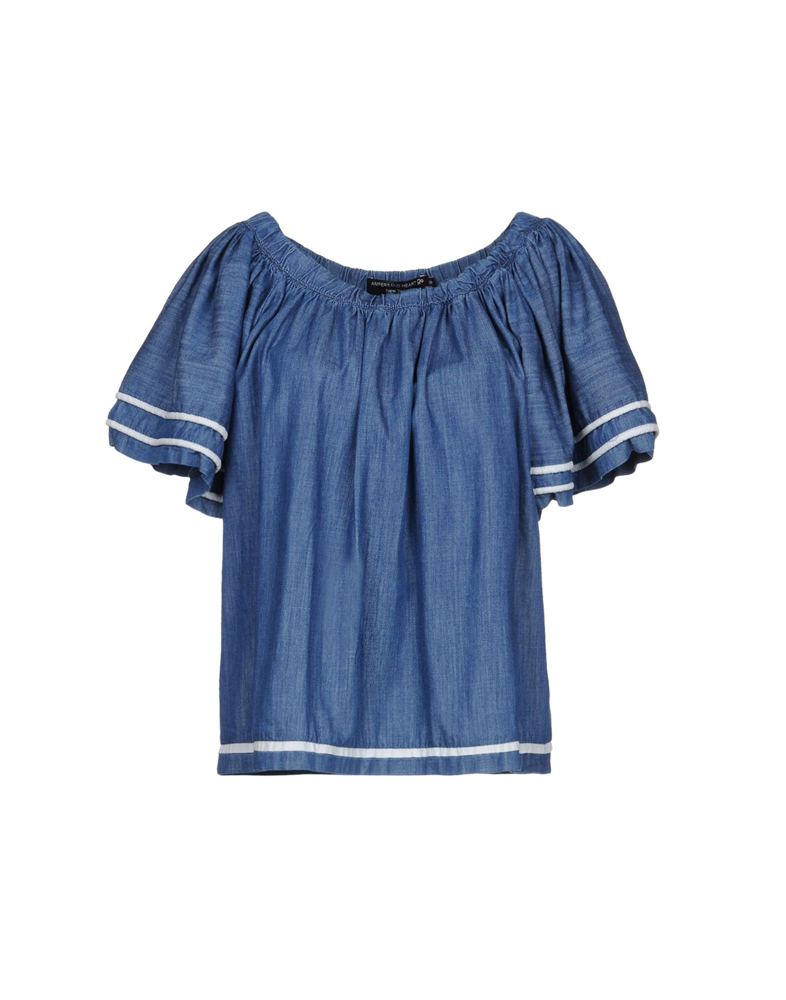 AMPERSAND HEART New York Джинсовая рубашка