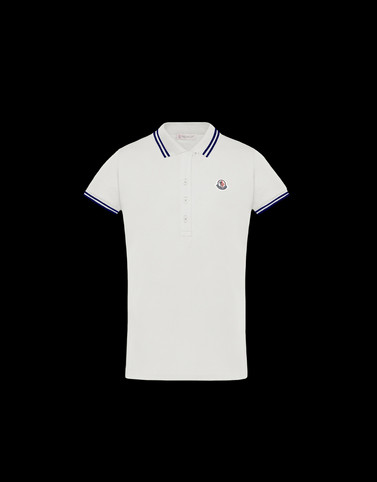 POLO SHIRT Ivory Junior 8-10 Years - Girl Woman