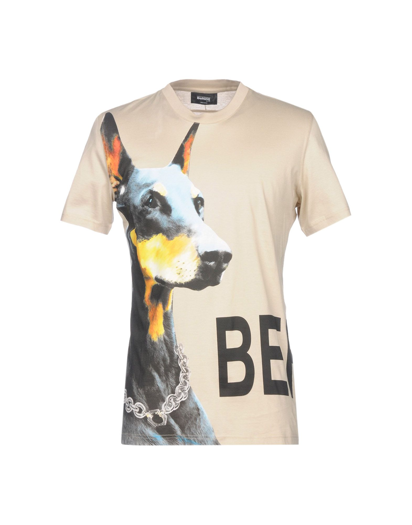 BEHIND® LAB Футболка t lab футболка t lab модель 2757884